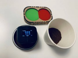 Quality control of roasted coffee using a colorimeter