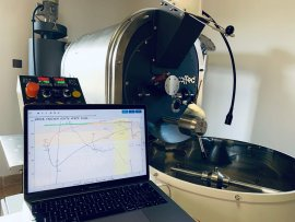 Quality control during roasting with the Artisan Scope software
